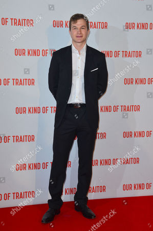 London Uk 5th May 2016: Alec Utgoff Attends the Uk Gala Screening of 'our Kind of Traitor', at the Curzon Mayfair in London, England. 5th May 2016.