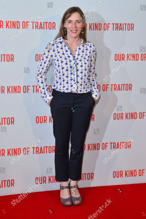 London Uk 5th May 2016: Saskia Reeves Attends the Uk Gala Screening of 'our Kind of Traitor', at the Curzon Mayfair in London, England. 5th May 2016.