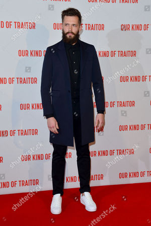 Stock Picture of London Uk 5th May 2016: Grigoriy Dobrygin Attends the Uk Gala Screening of 'our Kind of Traitor', at the Curzon Mayfair in London, England. 5th May 2016.