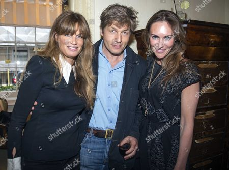 The 40th Anniversary of the United Nations Environment Programme with the Launch of Stanley Johnson's New Book Unep the First 40 Years at Pasley-tyler 42 Berkeley Square London Jemima Khan Leo Johnson & Laetitia Cash