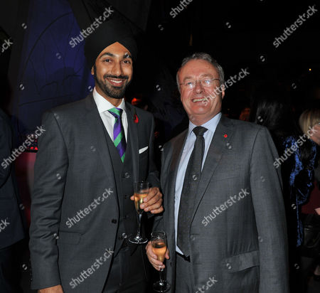 The 1000 - London's Most Influential People London Transport Museum Covent Garden Piazza London Kulveer Ranger & Colin Barrow the Leader of Westminster City Council;