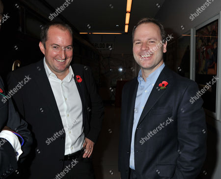 The 1000 - London's Most Influential People London Transport Museum Covent Garden Piazza London Guto Harri & the Prime Minister's Spokesman Craig Oliver
