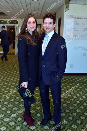 The 58th Hennessy Gold Cup at Newbury Racecourse Berkshire Sam Waley-cohen and His Wife Annabel Waley-cohen