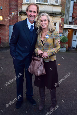 The 58th Hennessy Gold Cup at Newbury Racecourse Berkshire Mike and Angie Rutherford