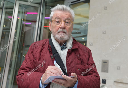 Stock Image of The Andrew Marr Tv Show at the Bbc Tv Centre Portland Place London Sir James Galway