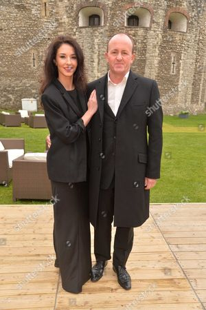 The Annual Gala Dinner of Terrence Higgins Trust at the Pavilion at the Tower of London East London Danny Rampling and His Wife