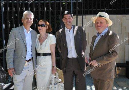 Stock Image of Press Day at the Chelsea Flower Show in the Grounds of the Royal Hospital Chelsea London John Sargeant