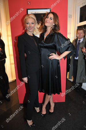 Lisa Snowdon & Laurie Wickwire of the Berkeley Diamond Group in Association with Tamara Beckwith & Ghislain Pascal of the Little Black Gallery Host the Closing Party of Bruno Bisang: 30 Years of Polaroids at the Little Black Gallery Park Walk Fulham London Tamara Beckwith & Lisa Snowdon