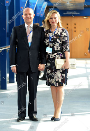 The Conservative Autumn Conference at the Hyatt Hotel & the Icc Birmingham Uk William and Ffion Hague