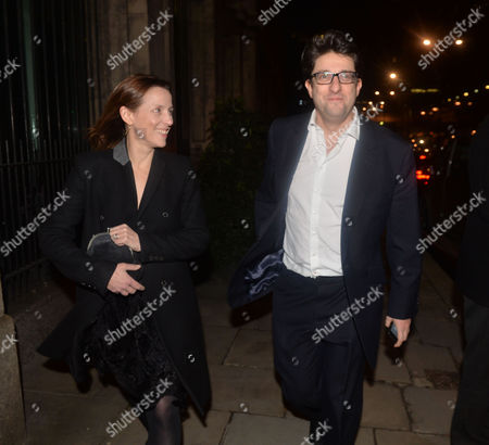 The Conservative Party Black & White Fund Raising Ball at Old Billingsgate Market City of London Kate Fall and Lord Andrew Feldman (chairman of the Conservative Party)