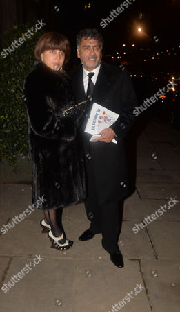 The Conservative Party Black & White Fund Raising Ball at Old Billingsgate Market City of London James Caan with His Wife Aisha Caan