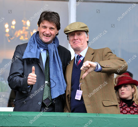 The Festival at Cheltenham Gold Cup Day Friday Lord Johnson Somerset & Stevie Winwood