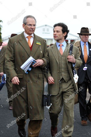 The Festival at Cheltenham Gold Cup Day Friday Sir Robert Waley-cohen and His Son Marcus Waley-cohen