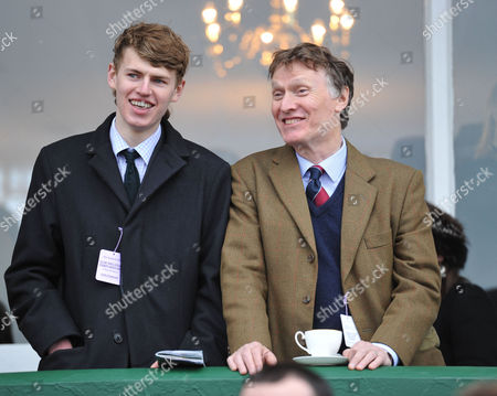 Stock Picture of The Festival at Cheltenham Gold Cup Day Friday Cal Winwood His Father Stevie Winwood