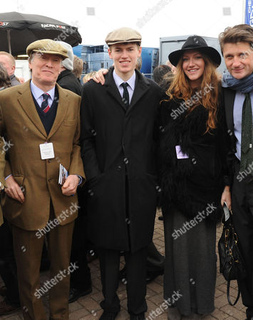 The Festival at Cheltenham Gold Cup Day Friday Stevie Winwood Cal Winwood Mary-clare Elliott