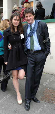 The Festival at Cheltenham Gold Cup Day Friday Lily Robertson and Lord Johnson Somerset