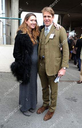 The Festival at Cheltenham Gold Cup Day Friday Ben Elliot & His Wife Mary-clare Winwood