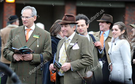 The Festival at Cheltenham Gold Cup Day Friday Sir Robert Waley-cohen Sir Stephen Waley-cohen Marcus Waley-cohen and Jessica Waley-cohen