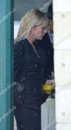 The Funeral of Peaches Geldof at St Mary Magdalene and St Lawrence Church in Davington near Faversham, Kent. Deborah Leng