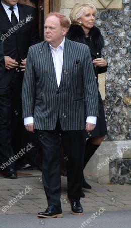 The Funeral of Singer Songwriter Lynsey De Paul at Hendon Cemetery & Crematorium Holders Hill Rd North London Mike Batt