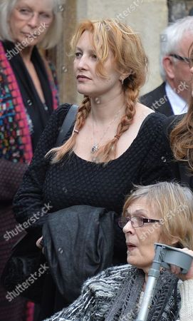The Funeral of Singer Songwriter Lynsey De Paul at Hendon Cemetery & Crematorium Holders Hill Rd North London Jayne Gould (ross)