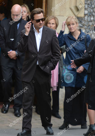 The Funeral of Singer Songwriter Lynsey De Paul at Hendon Cemetery & Crematorium Holders Hill Rd North London Russ Keen