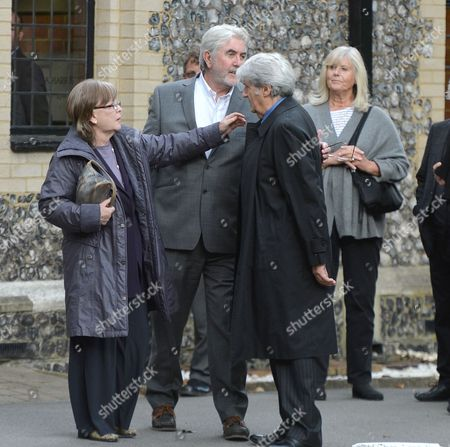Editorial photo of The Funeral of Singer Songwriter Lynsey De Paul
