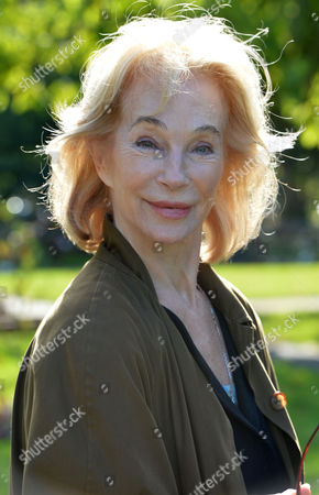 The Funeral of Singer Songwriter Lynsey De Paul at Hendon Cemetery & Crematorium Holders Hill Rd North London Shirley Anne Field