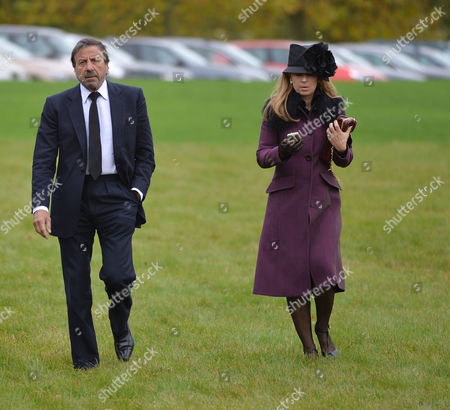 Stock Image of The Funeral of the Duke of Marlborough at Parish Church of St Mary Magdalene in Woodstock Oxfordshire Sir Rocco and Lady Forte