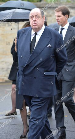 The Funeral of the Duke of Marlborough at Parish Church of St Mary Magdalene in Woodstock Oxfordshire Nicholas Soames