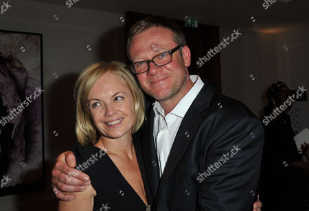 The Great Initiative Charity Dinner at the Corinthia Hotel London Whitehall Mariella Frostrup with Her Husband Jason Mccue