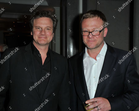 The Great Initiative Charity Dinner at the Corinthia Hotel London Whitehall Colin Firth & Jason Mccue