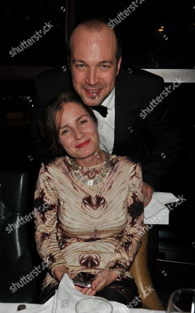The Great Scot Awards at Boisdale Canary Wharf Mylo ( Myles Macinnes ) with His Wife