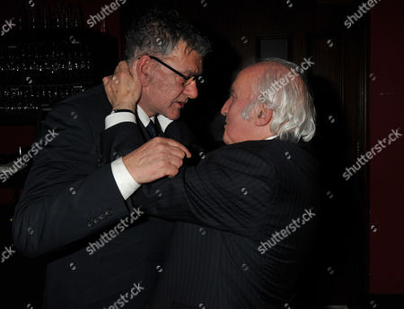The Great Scot Awards at Boisdale Canary Wharf Jack Vettriano and Richard Demarco