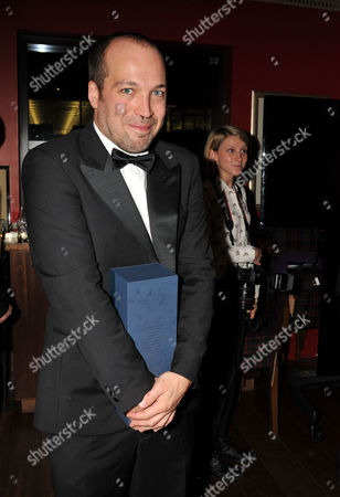 Stock Image of The Great Scot Awards at Boisdale Canary Wharf Mylo ( Myles Macinnes ) with His Wife