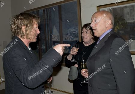 The Royal Academy of Arts Holds A Party to Celebrate the Launch of Charles Saumarez Smith's New Book the Company of Artists: the Origins of the Royal Academy of Arts in London Grayson Perry and Sir John Tusa