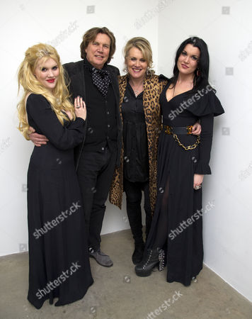 The Launch of Louise Fennell's Debut Novel 'Dead Rich' at White Cube Gallery Mason's Yard Off Duke Street St James's London Emerald Fennell Theo Fennell Louise Fennell and Coco Fennell