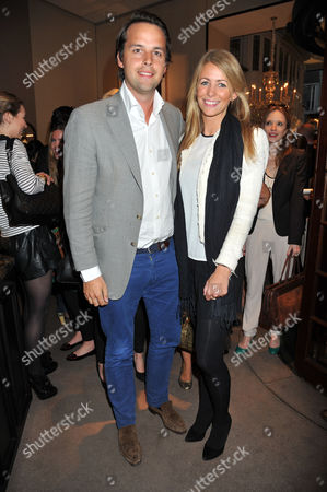 The Launch of Spectator Life Magazine at Asprey New Bond Street London Charlie Gilkes and Anneke Von Trotha Taylor
