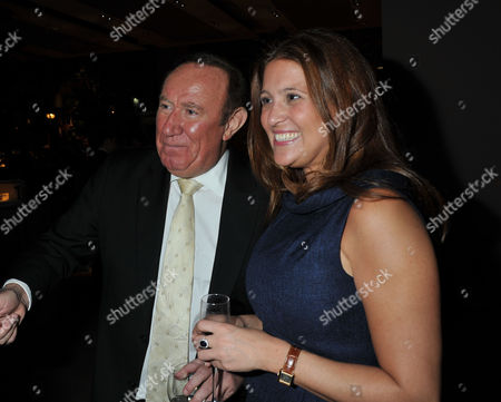 The Launch of Spectator Life Magazine at Asprey New Bond Street London Andrew Neil and His Partner Susan Nilsson