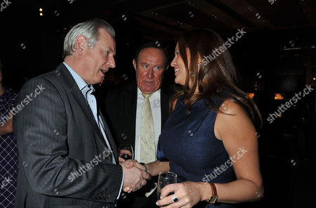 The Launch of Spectator Life Magazine at Asprey New Bond Street London Francis Maude Mp with Andrew Neil and His Partner Susan Nilsson