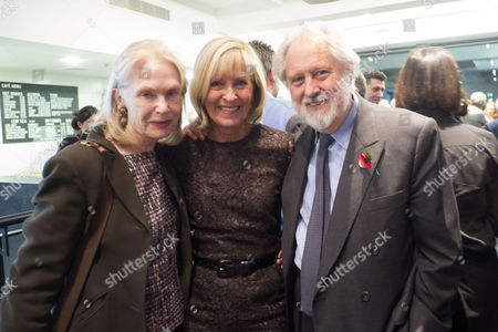 The Launch of Terence Donovan Fashion at the Photographers Gallery Ramillies Street London Diana Donovan with Lord David & Lady Patsy Puttnam