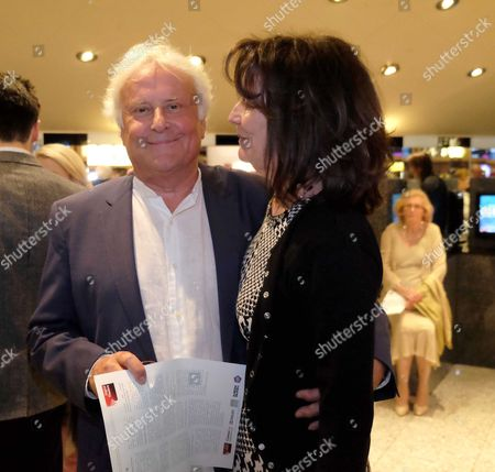 The London Premiere of Ghosts at the Empire Leicester Square Director Sir Richard and Lady Eyre