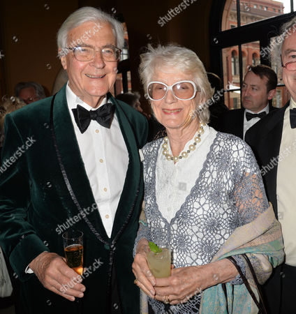 The Man Booker International Prize at the Victoria and Albert Museum Brompton Road West London Lord & Lady Kenneth Baker