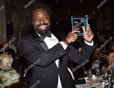 The Man Booker Prize Presention at the Guildhall Gresham Street the Winner Marlon James