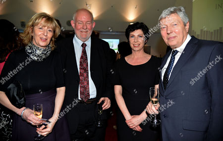 The Paddypower Political Book of the Year Awards at the Imax Waterloo London ? Charles Clarke with Alan Johnson and Carolyn Burgess
