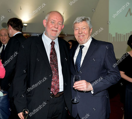 The Paddypower Political Book of the Year Awards at the Imax Waterloo London Former Labour Home Secretary's Charles Clarke & Alan Johnson