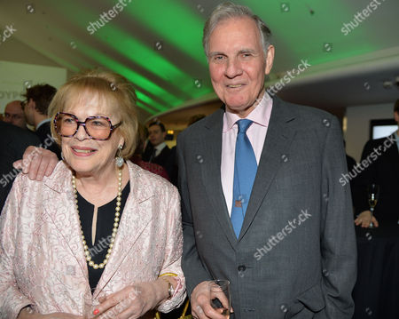 The Paddypower Political Book of the Year Awards at the Imax Waterloo London Lady Antonia Fraser and Jonathan Aitken