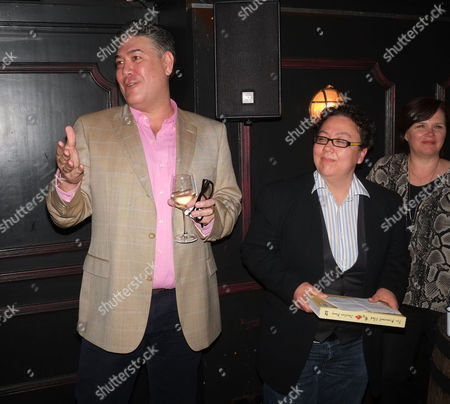 The Pepperpot Club Book Launch at the Rum Kitchen All Saints Road Notting Hill West London the Books Author Jonathan Phang & Rena Brannan