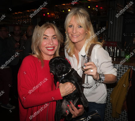 The Pepperpot Club Book Launch at the Rum Kitchen All Saints Road Notting Hill West London Brix Smith with Mable and Gaby Roslin