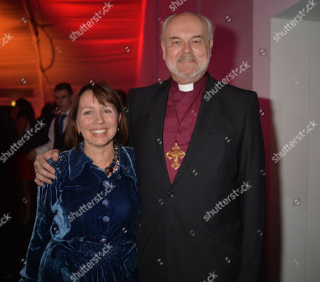 The Power 1000 Launch at Battersea Power Station Hosted by the London Evening Standard Sarah Sands and the Bishop of London Richard Chartres